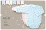 Боди с длинным рукавом для новорожденных БД 69 Бемби, интерлок 0