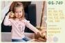 Детская футболка на девочку ФБ 749 Бемби, интерлок 0