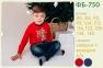 Детская футболка на мальчика ФБ 750 Бемби, интерлок 0