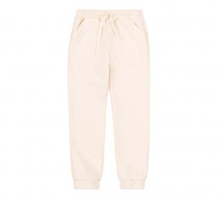 Детские спортивные штаны для девочки ШР 720 Бемби молочный