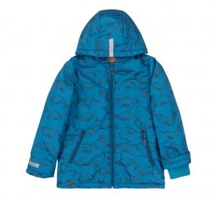 Детская осенняя куртка для мальчика КТ 246 Бемби синий-рисунок
