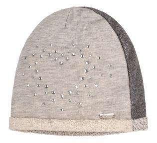 Детская шапочка для девочки ШП 87 Бемби, трикотаж