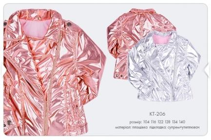 Детская весенняя куртка на девочку КТ 206 Бемби, плащевка+супрем+утеплитель