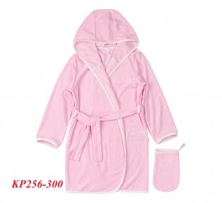 Детский комплект халат и мочалка КП 256 Бемби махра
