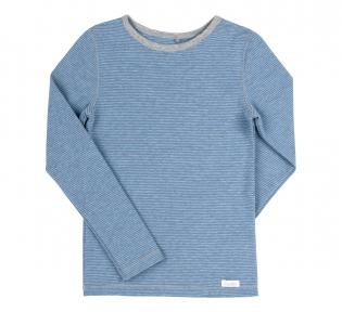 Детская термо футболка с длинным рукавом ФБ 723 Бемби, рибана продается в комплекте с ШР 289