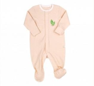 Детский эко-комбинезон для новорожденных КБ 156 Бемби, органик коттон