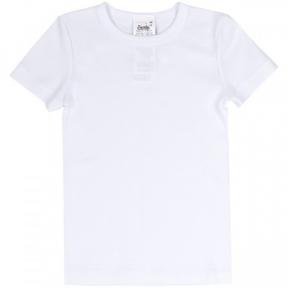 Детская белая футболка ФБ 634 Бемби, рибана