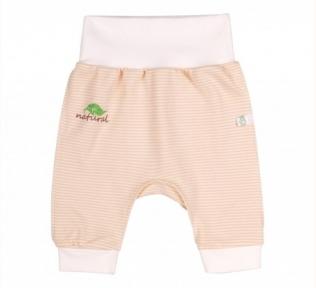 Детские эко-штаны для новорожденных ШР 607 Бемби, органик коттон
