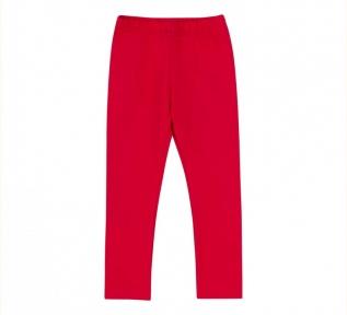 Детские штаны (лосины) для девочки ШР 669 Бемби красный