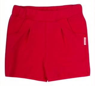 Детские шорты на девочку ШР 671 Бемби красный