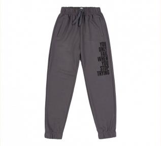 Детские спортивные штаны для мальчика ШР 719 Бемби серый