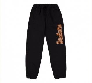 Детские спортивные штаны для мальчика ШР 719 Бемби черный