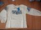 Детская этно-рубашка вышеванка для девочки с длинным рукавом РБ 101 Бемби, лен