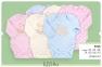 Боди с длинным рукавом для новорожденных БД 58а Бемби белый-девочка