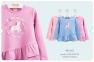 Детская футболка с длинным рукавом на девочку ФБ 663 Бемби, интерлок
