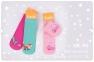 Детский набор носков с 6 шт для девочки НК 90 Бемби, простые