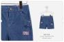Детские шорты для мальчика ШР 542 Бемби, джинс