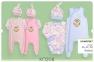 Детский комплект для новорожденых КП 208  Бемби, байка