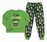 Детская пижама универсальная ПЖ 53 Бемби зеленый-синий-рисунок